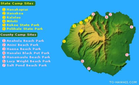 kauai camping